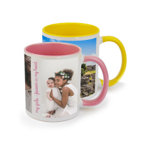 Mug Coloured 325ml incl Delivery x 2