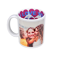 Mug Love Themed 325ml incl Delivery