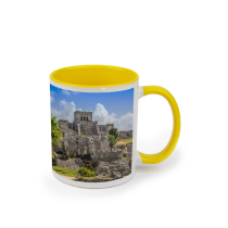 Mug Yellow 325ml incl Delivery