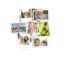 Photo Prints Mini 76 x 50mm 42pk incl Delivery
