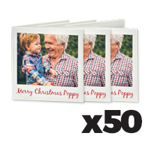 100 x 100cm Greeting Card x 50 @ $1.07 each incl Delivery