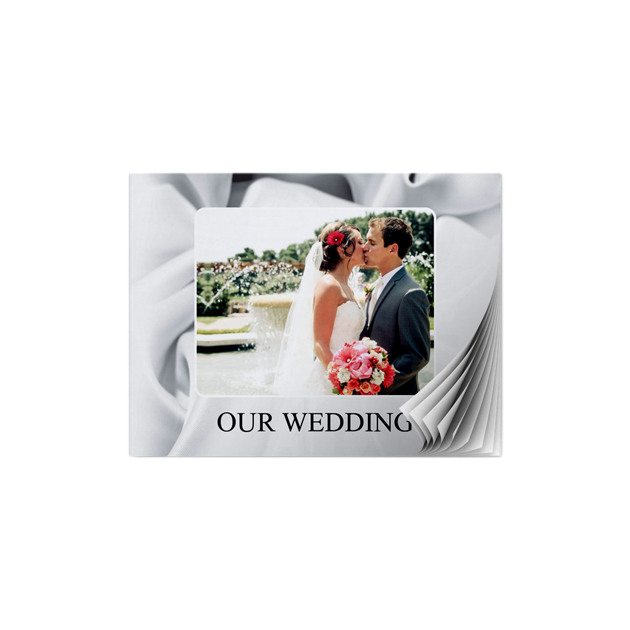 Wedding Satin A5 Landscape Softcover Photobook