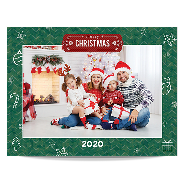 Christmas Photos at Home - Landscape Pack