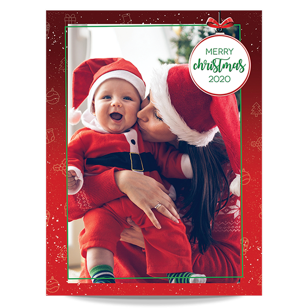 Christmas Photos at Home - Portrait Pack